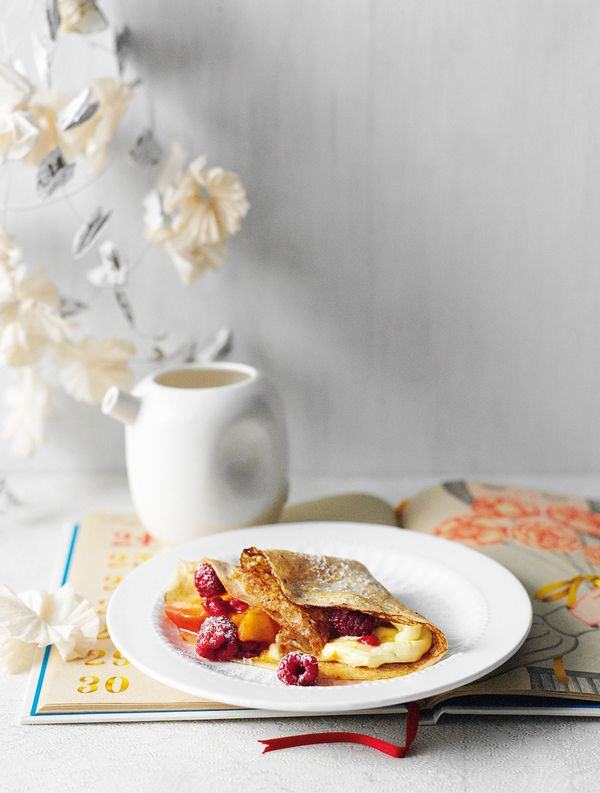 Stuffed French Crepes--a perfect choice for Sunday breakfast