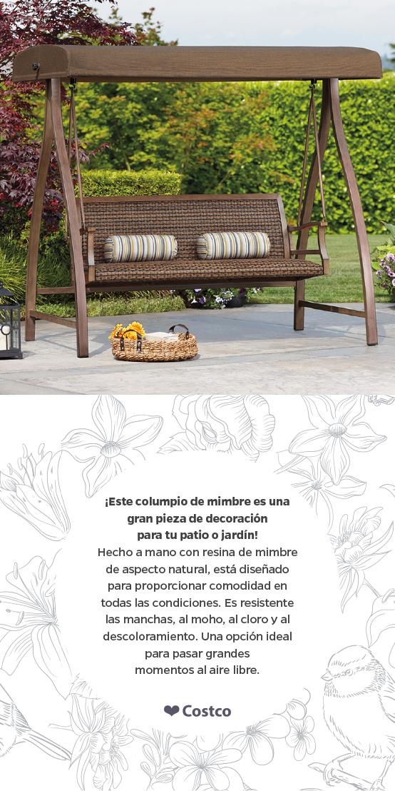 Con los muebles para exteriores de Costco, ¡Transforma tu jardín en ...