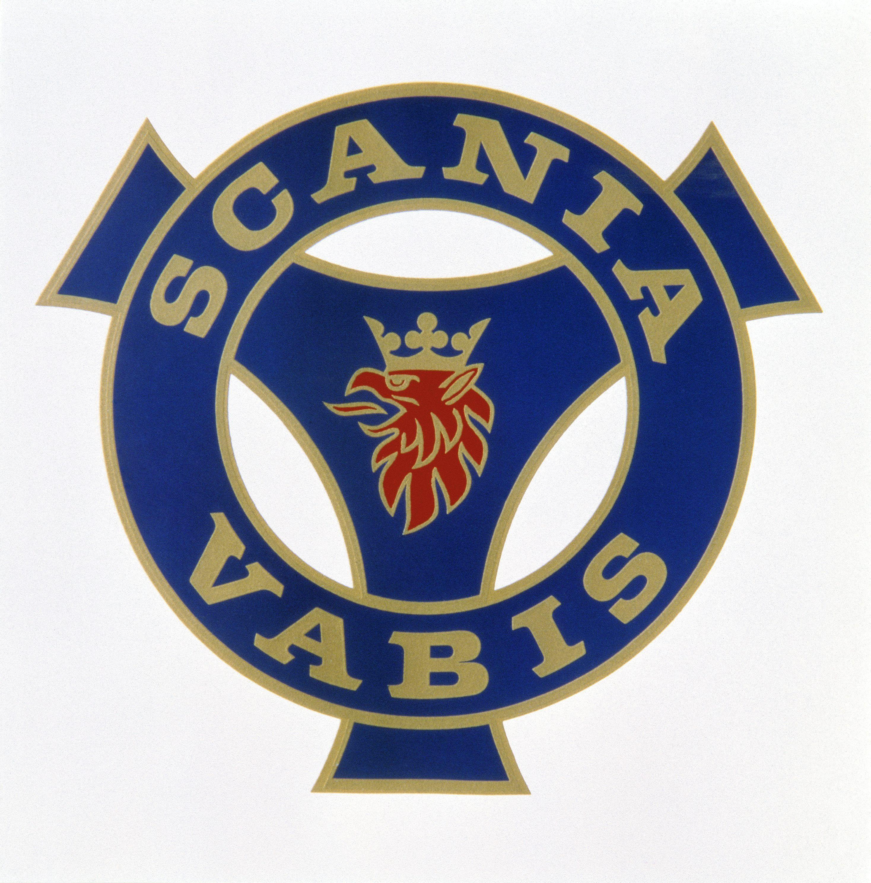 Scania logo SAAB SCANIA CARS AND TRUCKS SWEDEN