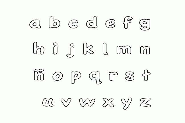 Abecedario Minusculas Para Imprimir Y Colorear Abecedario Para Imprimir Abecedario Minusculas Letras Del Abecedario