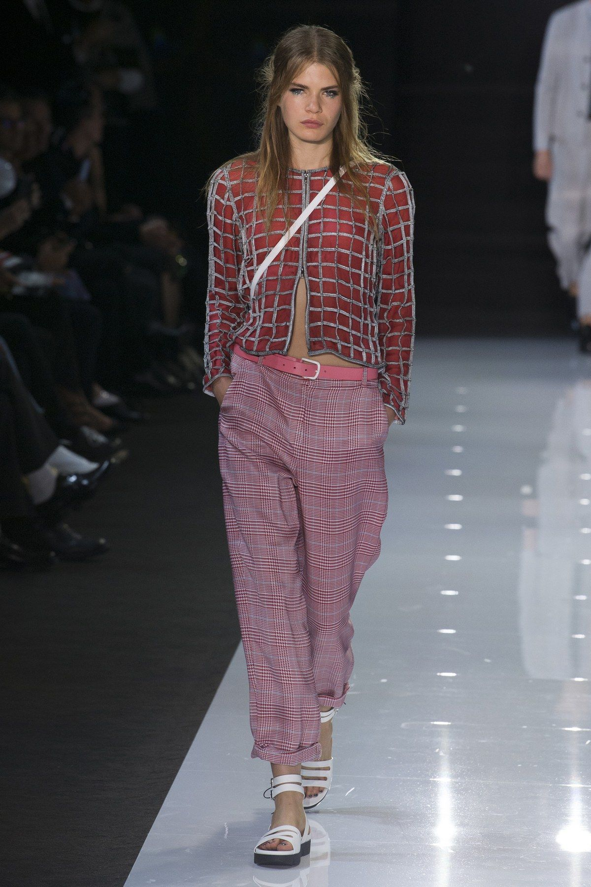Armani emporio spring runway review images