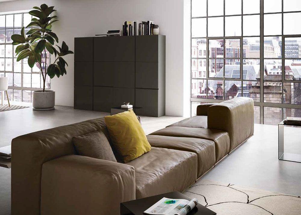 Divano Delano showroom TEMATIC Bologna Sofa
