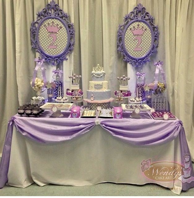 Inspiration for Madison's First Birthday Party Dessert Table - from Madison's mom
