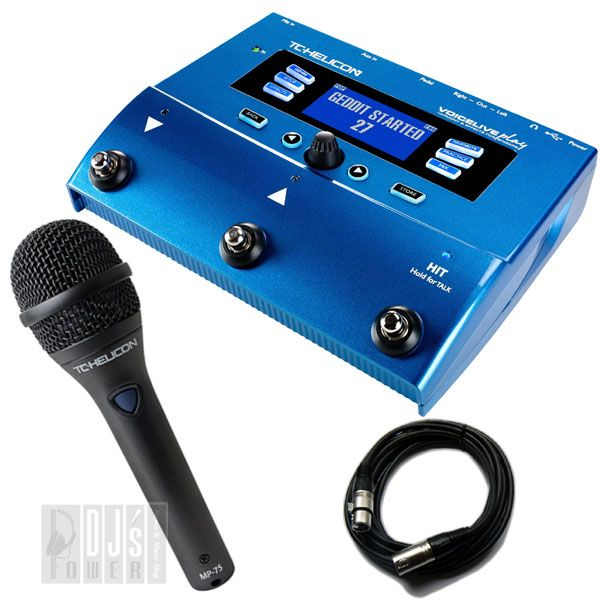 TC Helicon VoiceLive Play + MP75 SET