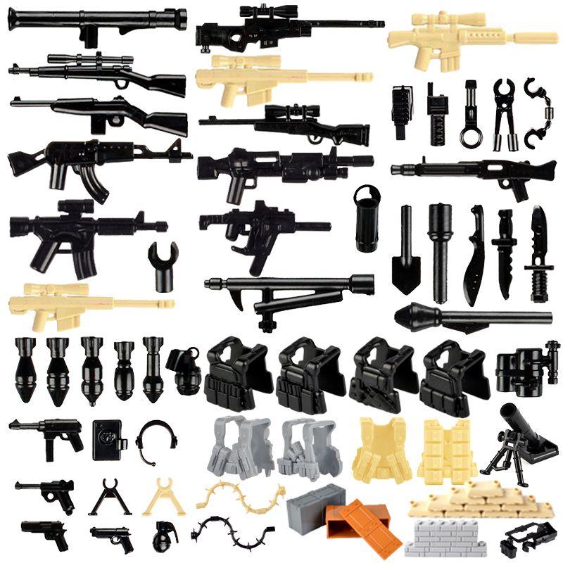 Militär Swat Team City Police Gun Armee Soldaten Mit Waffen Figuren