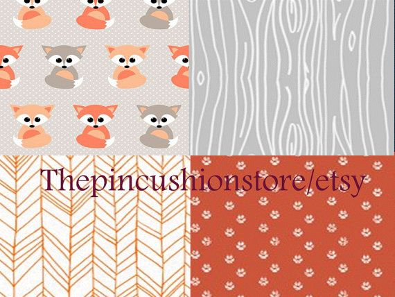 This listing is for one custom sheet, crib bumper and pleated crib skirt set. Modern cotton print baBY/crib bedding. Keep in mind that