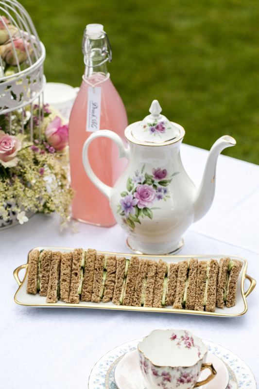 Summer Secret Garden Tea Party Vintage Wedding Sweetpea And Ivy Decor