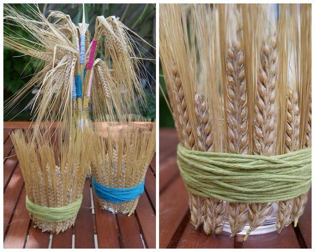 Photo of Sommerlig borddekorasjon med korn