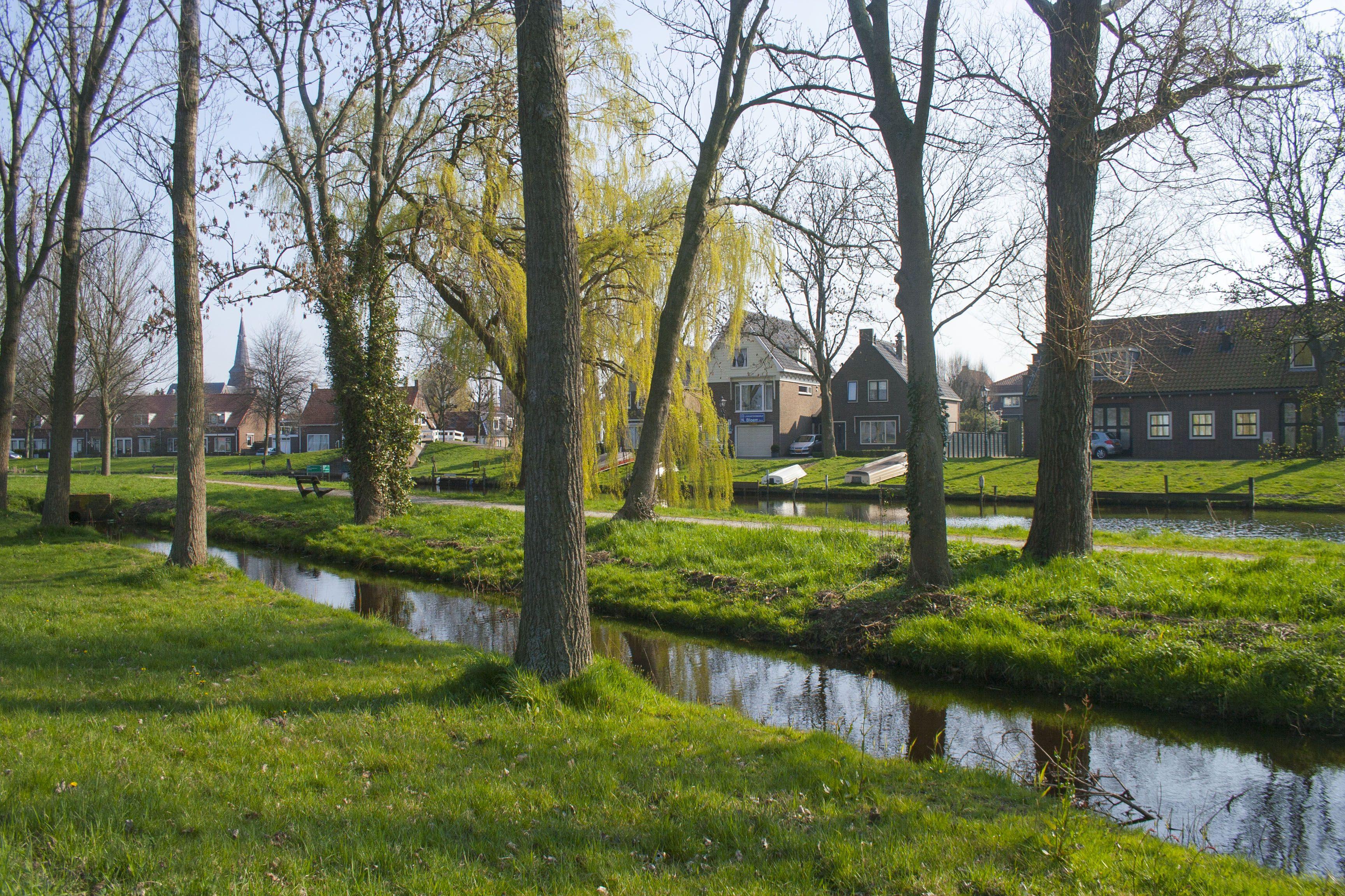 Entrada a Monnickendam, Holanda, Paises Bajos