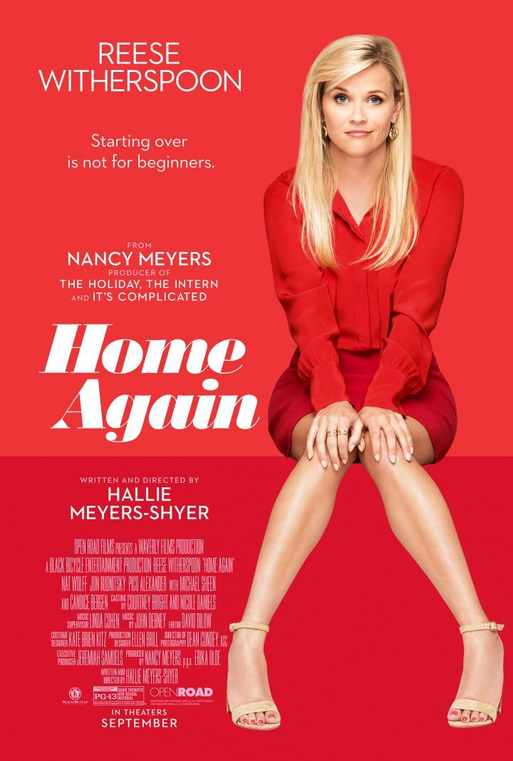 Home Again Poster Reese Witherspoon Rom Com