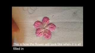 CREWEL EMBROIDERY SEED STITCH GRADIENT LEAVES - VIDEOS DE EMBROIDERY   PELICULAS DE EMBROIDERY   TVPlayVideos - Reproduce videos restringidos de YouTube