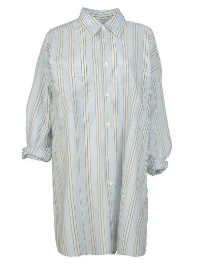 FAITH CONNEXION Faith Connexion Oversized Striped Shirt. #faithconnexion #cloth #shirts