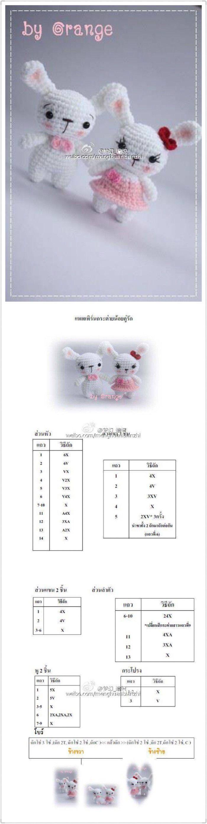Pin de Kungking Yottarat en Pattern crochet free | Pinterest ...