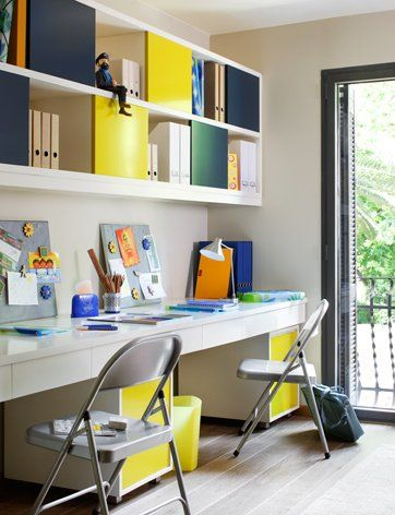 Desk Spaces For Kids Study Table Designs Kids Study Spaces