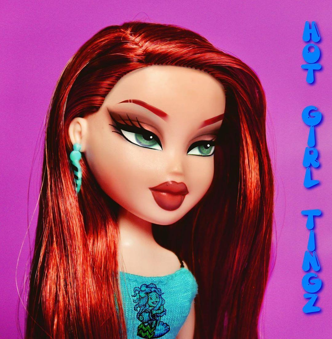 A Q U A R I U S Bratz Bratzphotography Dollstagram Photographer Aquarius Ginger Makeup Fashion Outfit Makeuplook Bratz Doll Makeup Bratz Girls Brat Doll