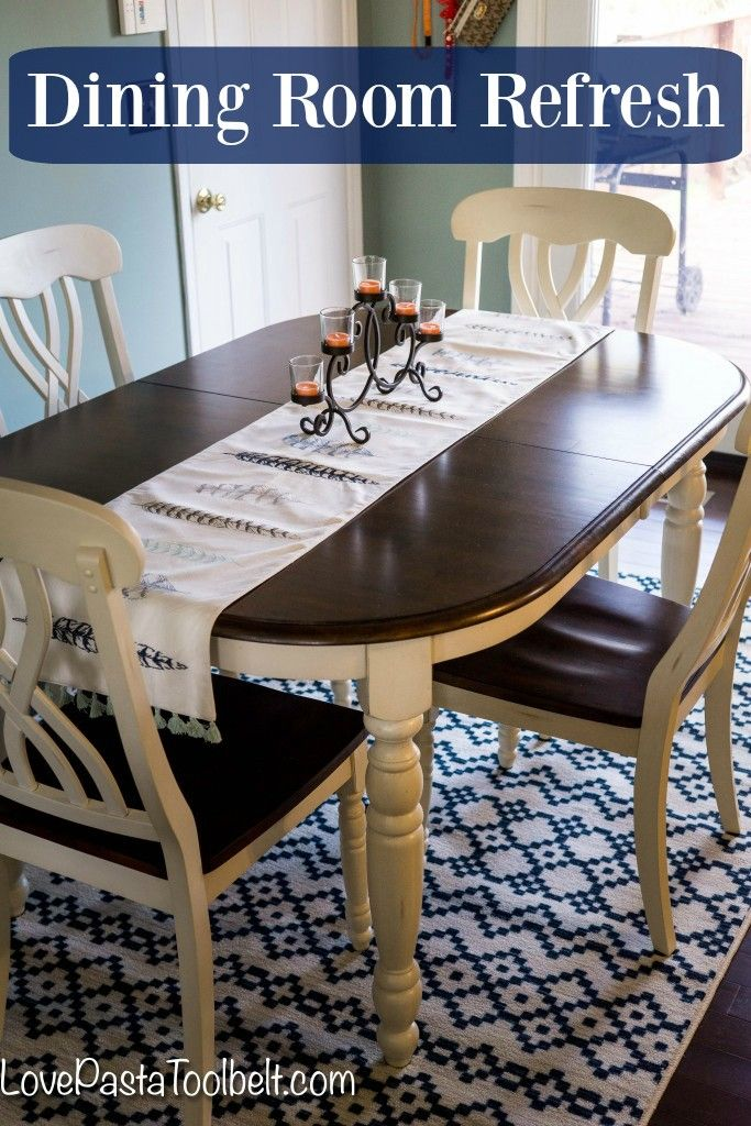 Dining Room Refresh a giveaway
