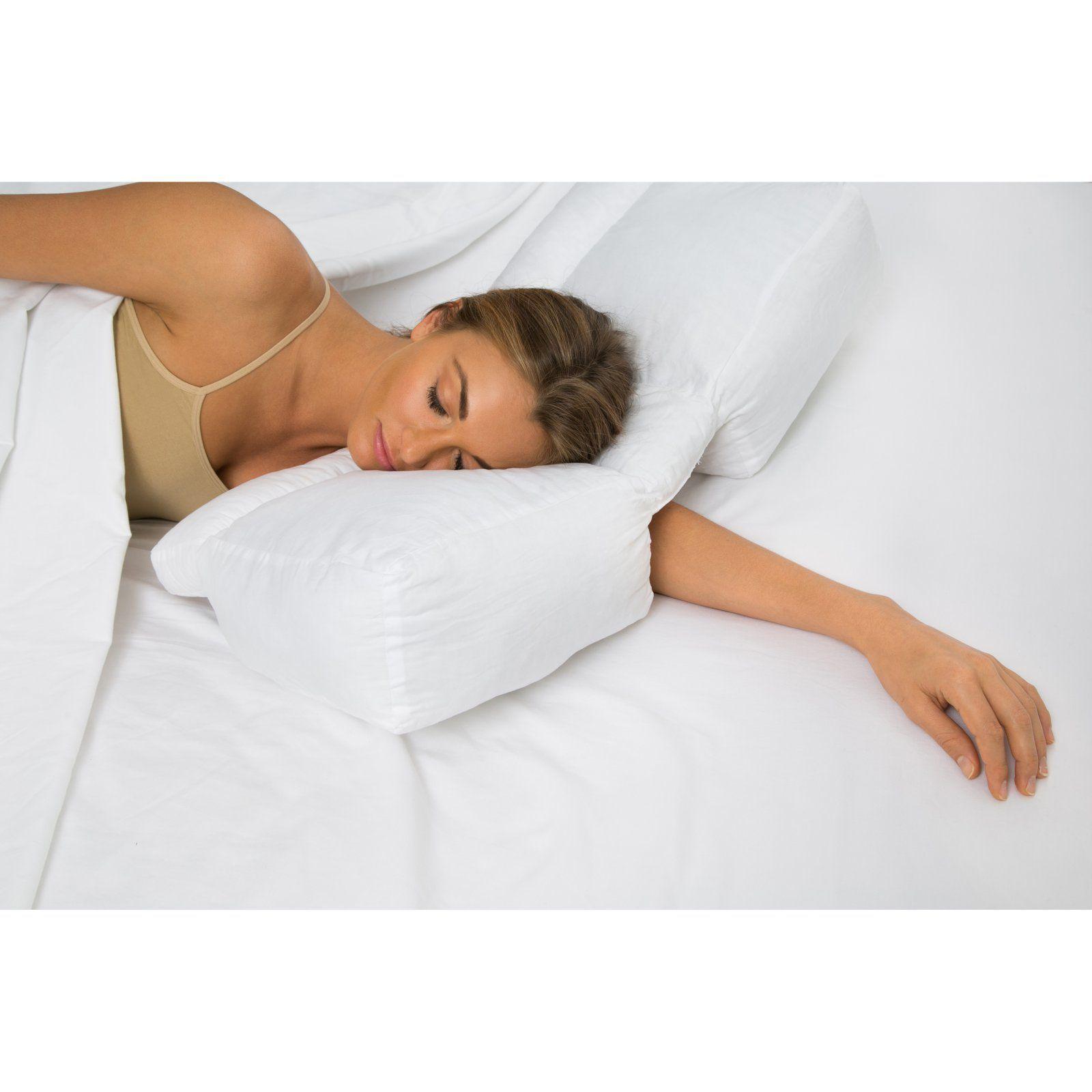 arm pain neck clicking pillow