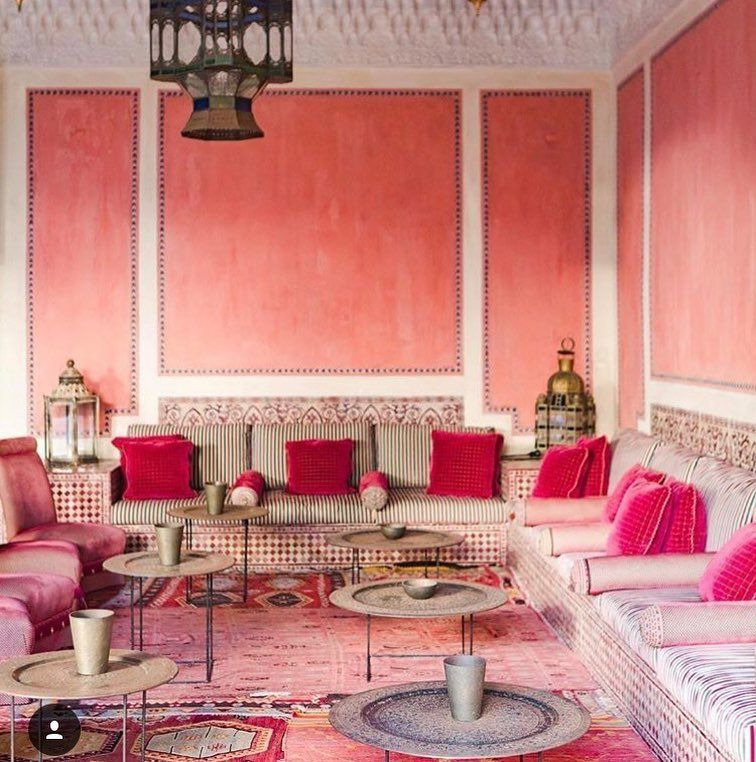 Enchanting Moroccan Style Living Rooms Motif - Living Room Designs ...