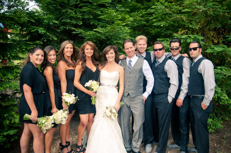Casual Wedding Party
