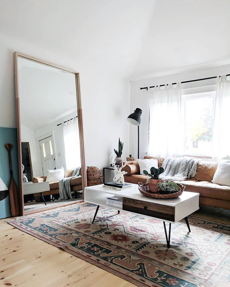 Large mirror in living room/bedroom in 2019 | Boho living ...
