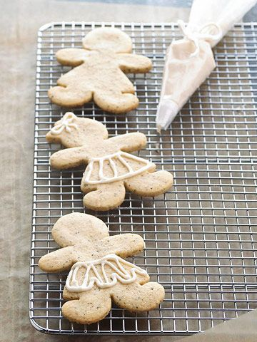 christmas cookie menagerie.