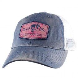 At Ease Hibiscus Ladies Trucker Hat  27e838dbb92