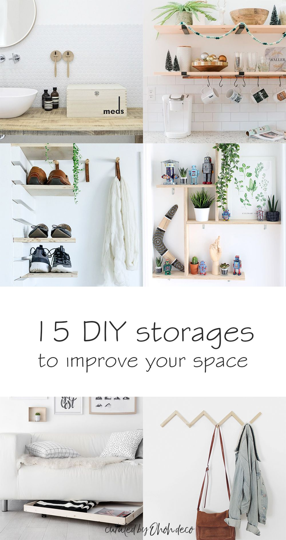 Easy Diy Storage To Improve Your Space Diy Storage Diy Storage
