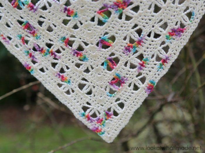 Banksia Shawl Free Crochet Pattern | Crochet cowls/scarves/shawls ...