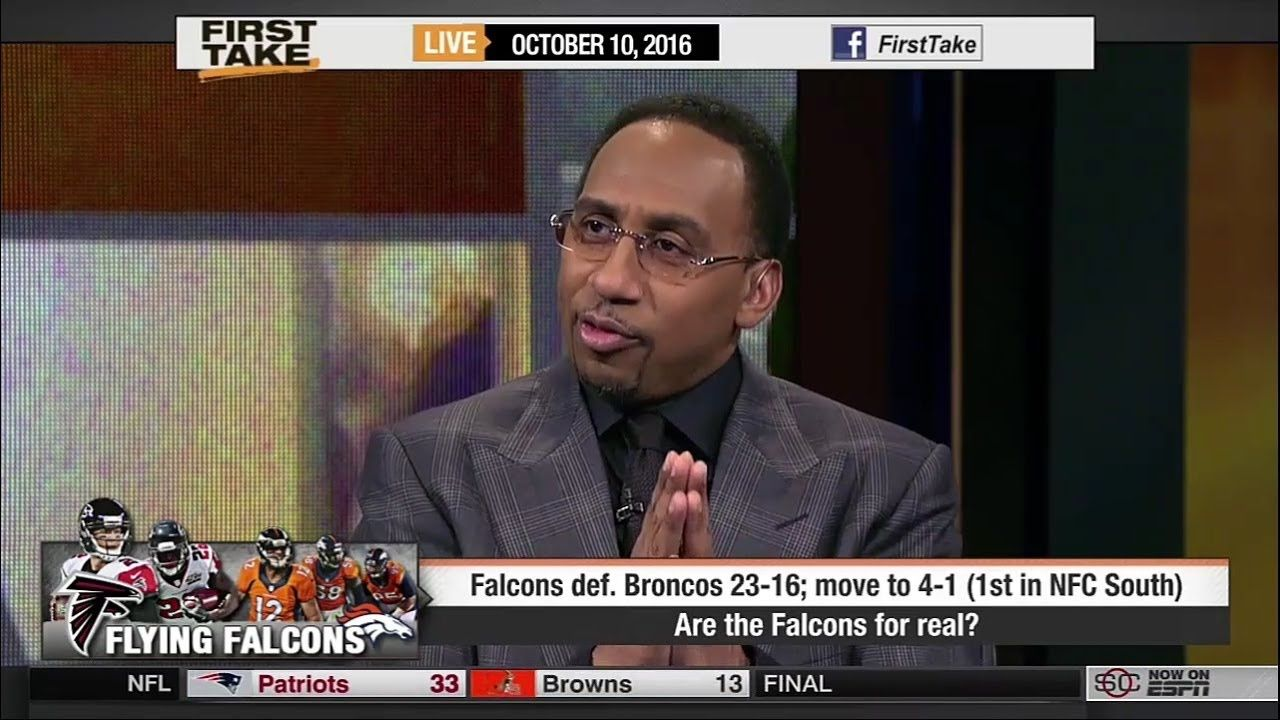 Espn First Take Today Are The Atlanta Falcons For Real