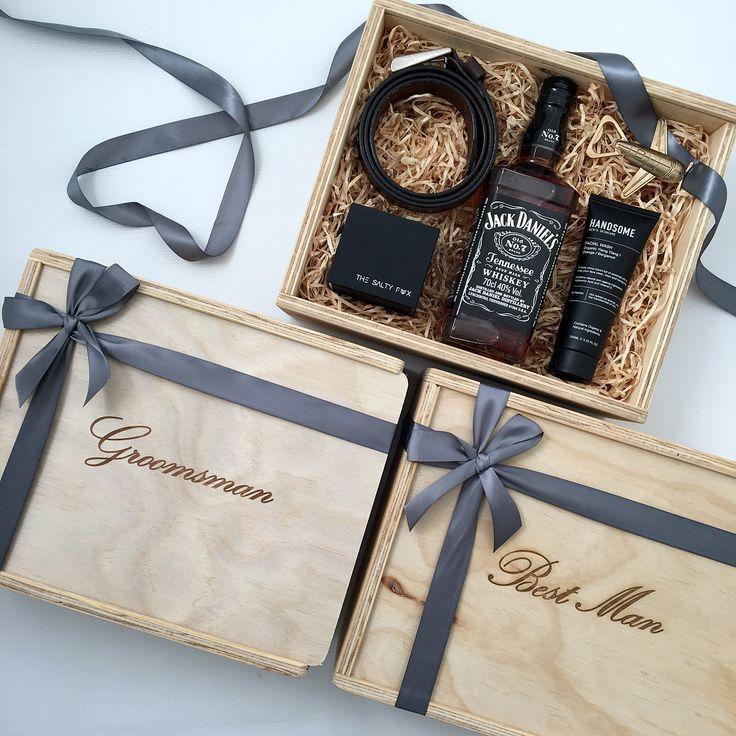 Photo of Best Man/Groomsman Gift Box – Custom Engraved | The Bridal Box Co.