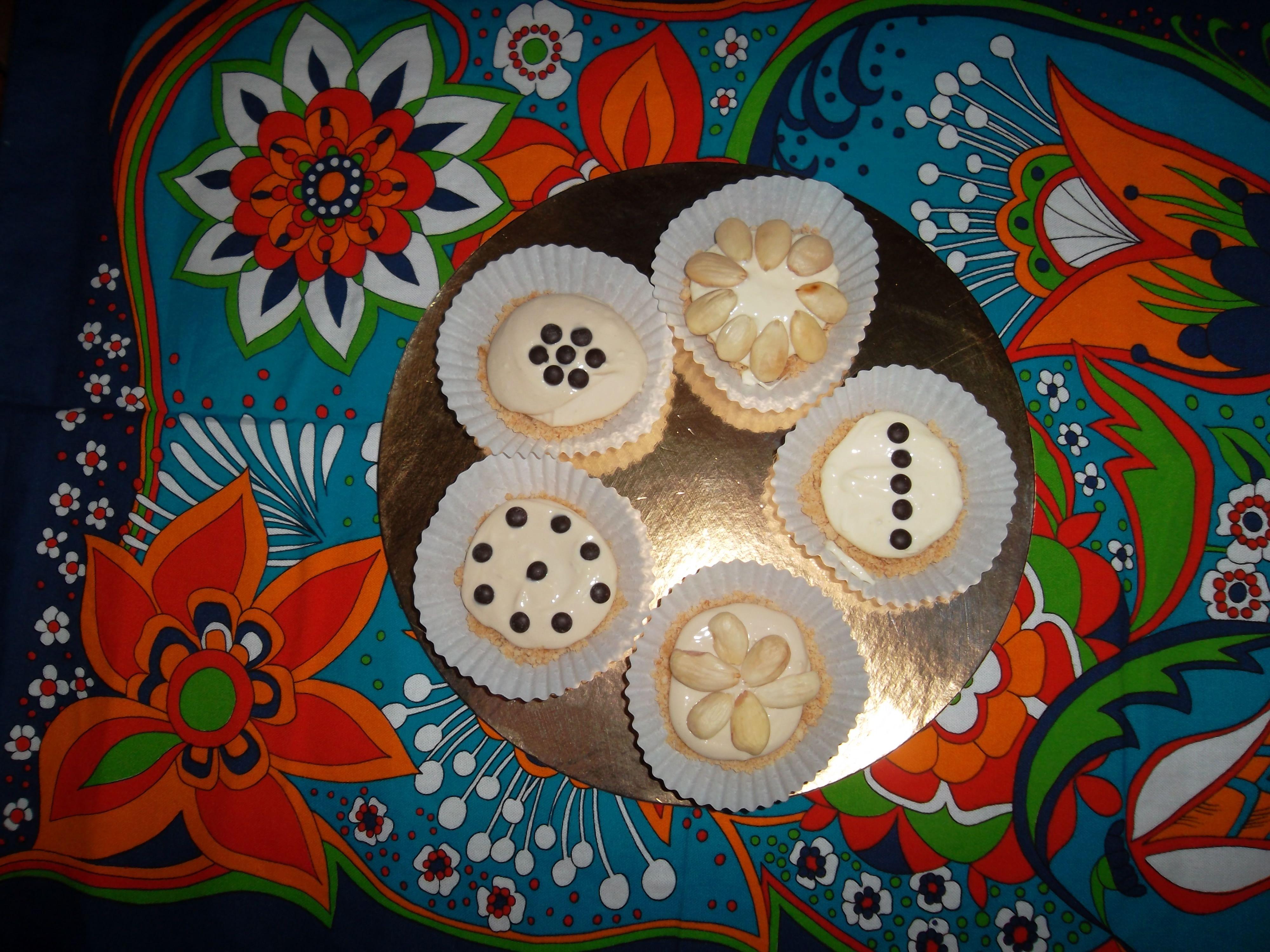 mini cheese cakes al caffè