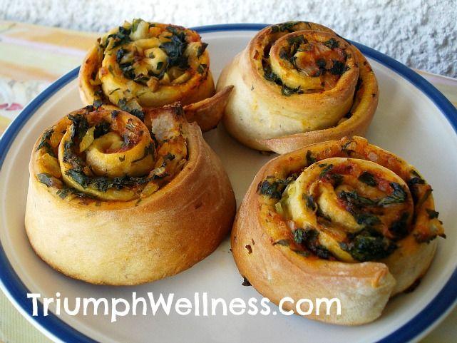 Vegan Pizza Roll Bourekas