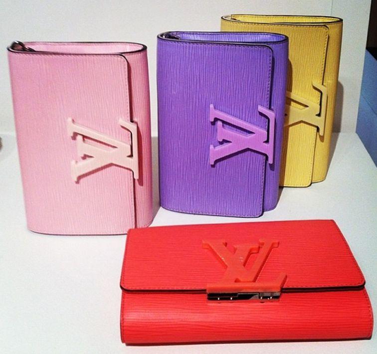 Louis Vuitton leather goods