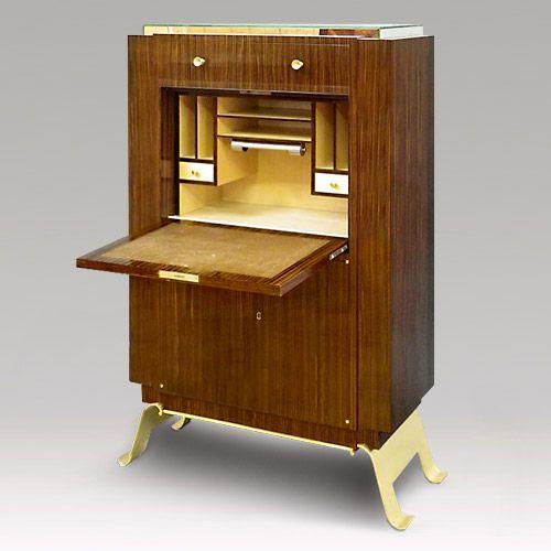 Restaurateur b niste de meubles du xxe si cle atelier jean yves le bot camblon saint jean la - Ebeniste designer meubles ...
