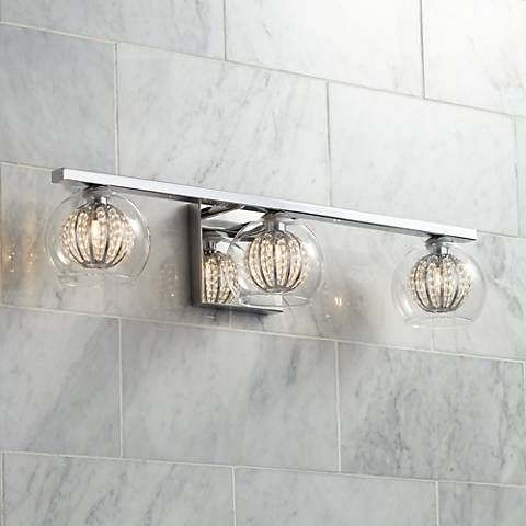 Possini euro onida 23 14 wide crystal glass bath light style possini euro onida 23 14 wide crystal glass bath light 3v953 mozeypictures Images