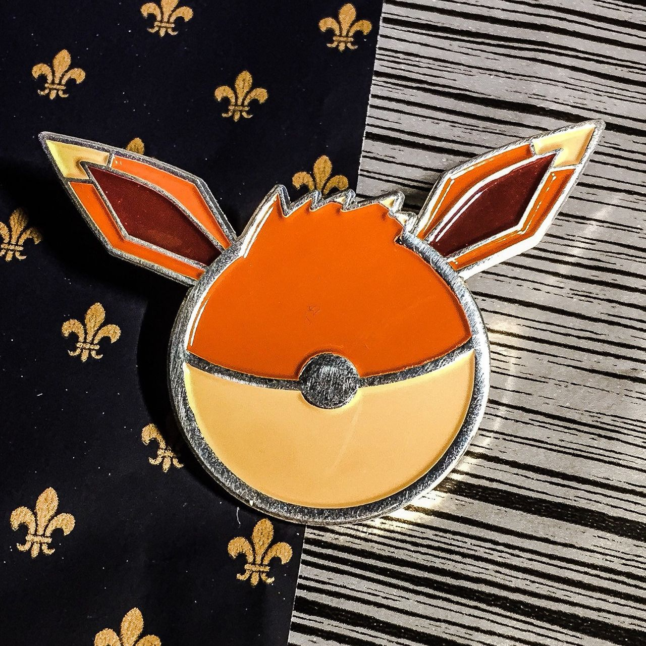 Eeveelution Pokeball Pins made by StellaPins -
