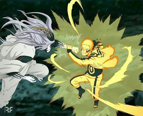 Naruto vs momoshiki new versión manga