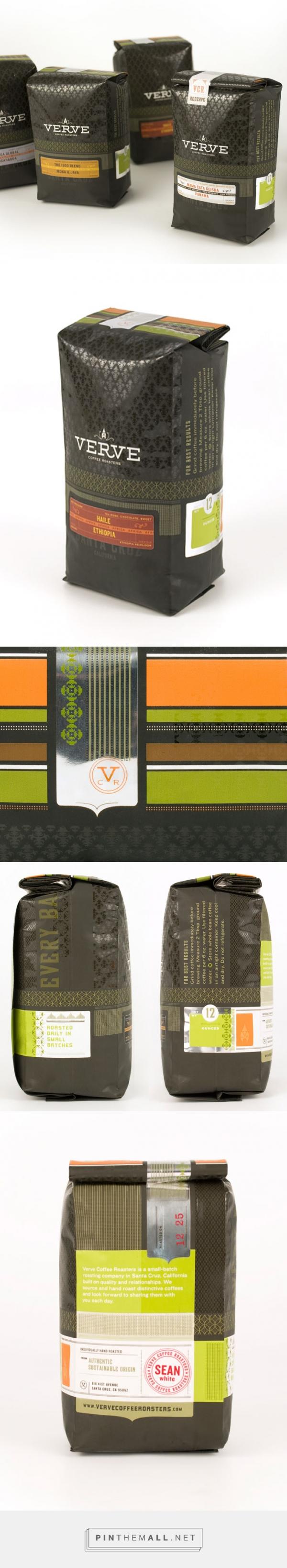 Verve Coffee Roasters — The Dieline - Branding & Packaging