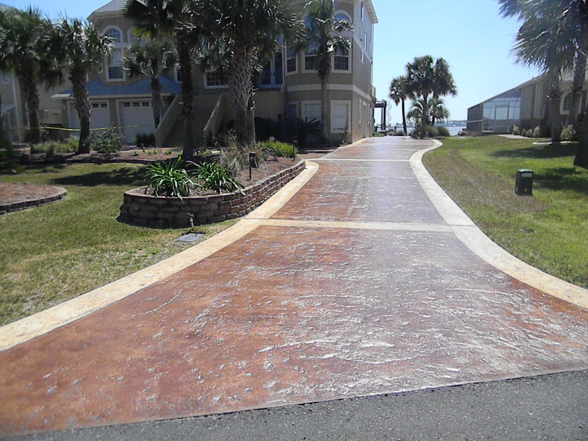 Driveway Refinishing #finishcoating #driveways