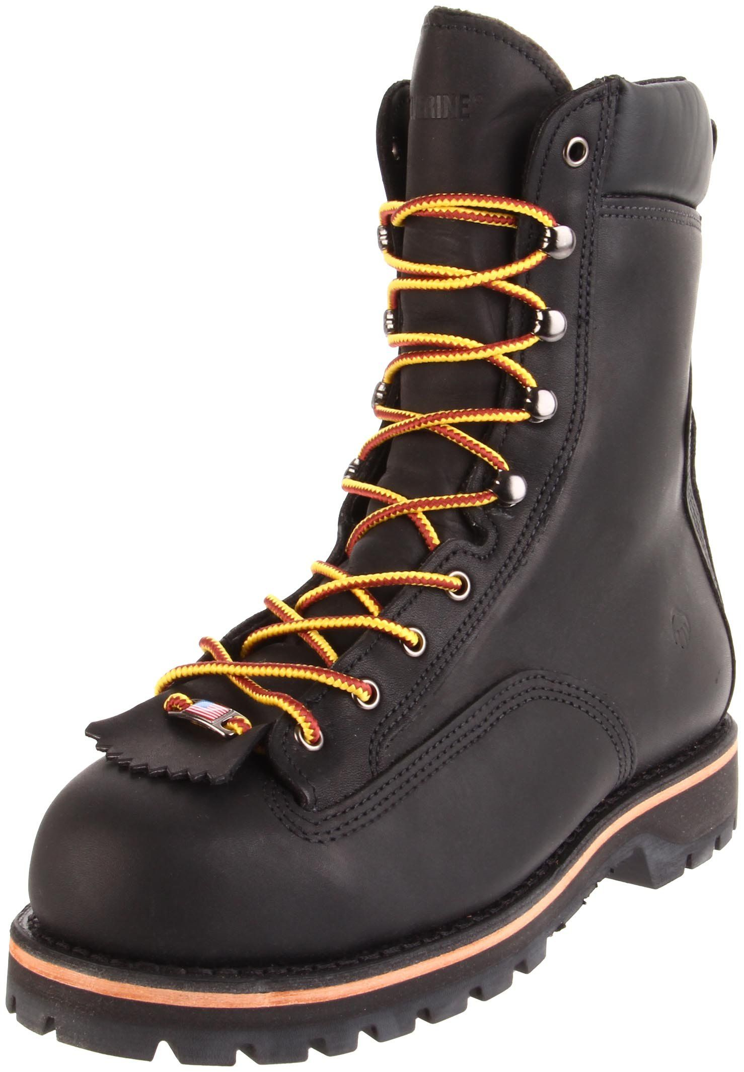 """Wolverine Men's Northman 8"""" Insulate Work Boot Made in the"""