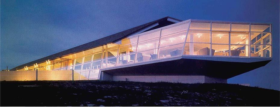 Michel Bras - hotel restaurant - oeuvre architecturale from my ...