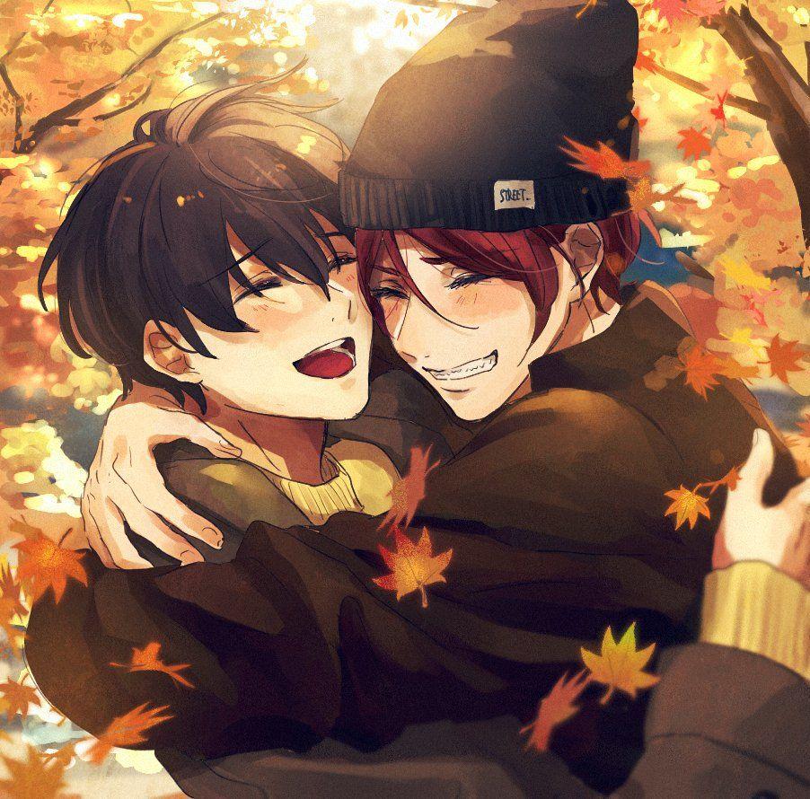 Rin and Haru // Free! | Free anime, Free iwatobi swim club