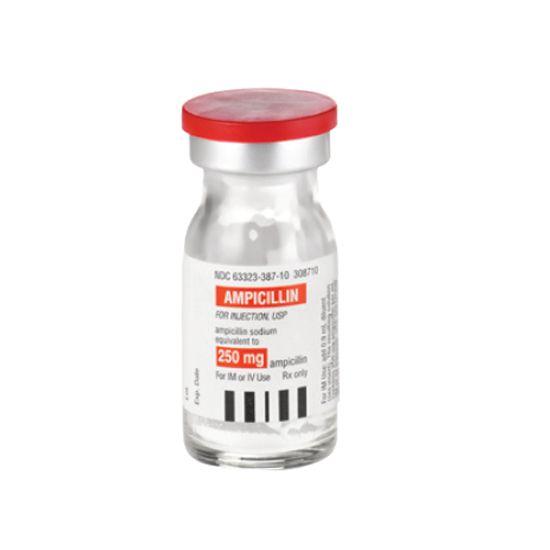 Ampicillin tablets foreign