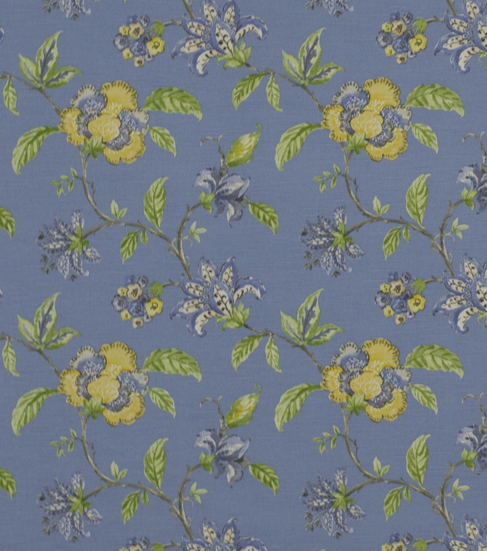 Robert Allen Home Print Fabric 54 Les Jardins Hydrangea