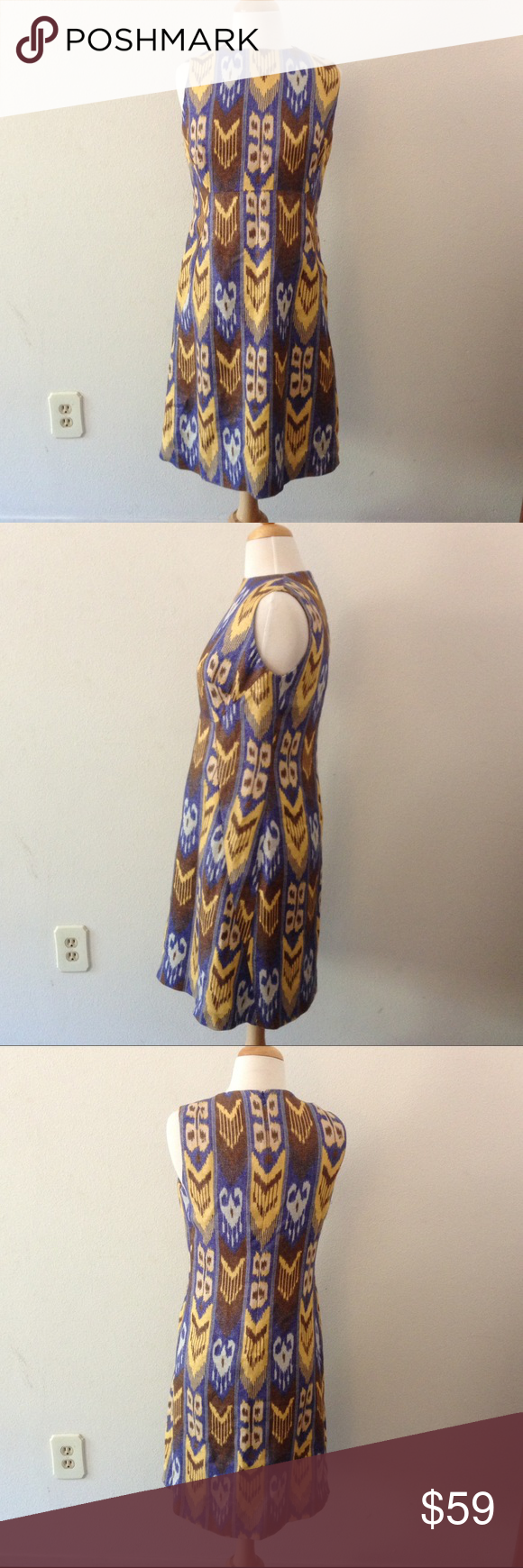 Beautiful Tory Burch Dress with Inside Lining Good conition. Light wrinkling. Size 8 Tory Burch Dresses