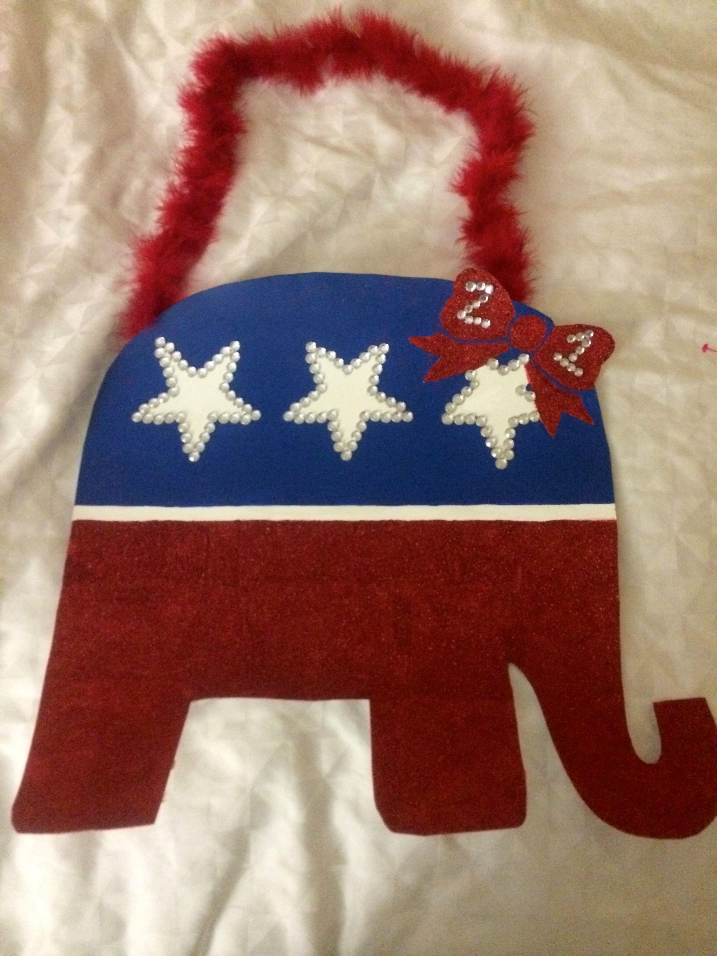 21st birthday sign american  republican   america twenty-first elephant checklist #21stbirthdaysigns