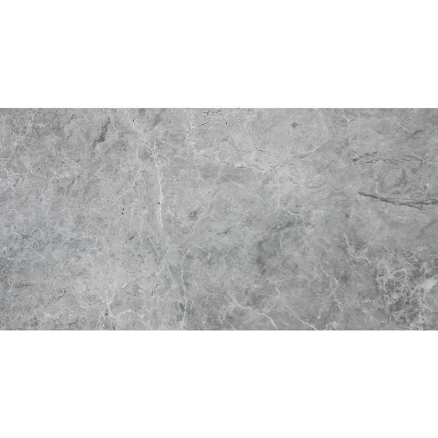 Shop Avenzo 24-in x 12-in Valensa Grey Marble Wall and Floor Tile ...