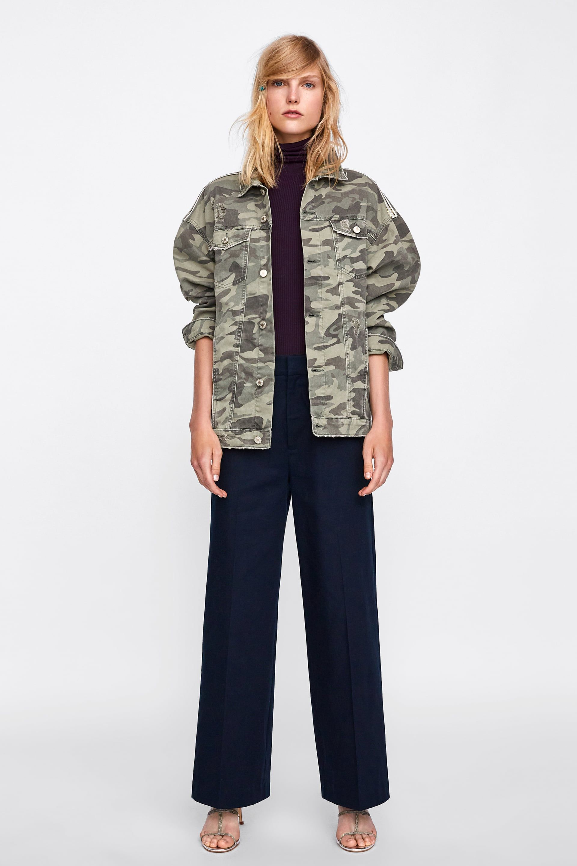 91d1016046d40 Image 1 of CAMOUFLAGE JACKET Z1975 from Zara | Wish List ...