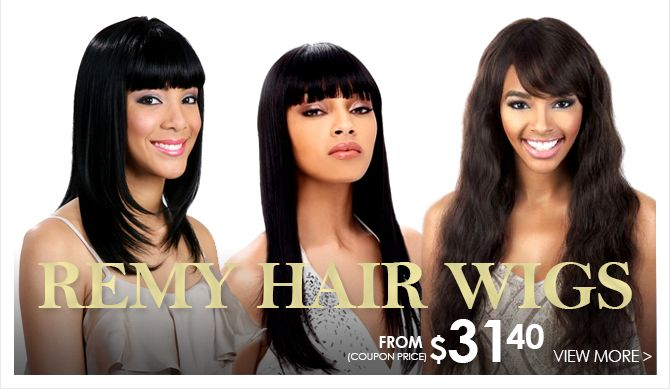 Remy Hair Styles: Remy Hair Wigs From 31.40 At Www.HairToBeauty.com