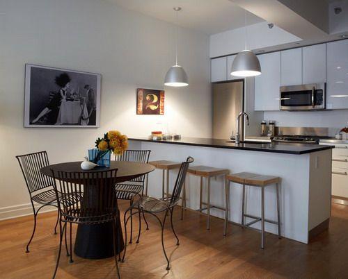 Easiest Tips To Improve Apartment Kitchen Ideas Apartment Interior Design Apartment Interior Modern Kitchen Apartment